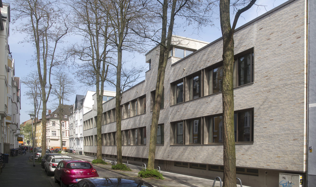 heupel architekten schiller gymnasium m nster. Black Bedroom Furniture Sets. Home Design Ideas