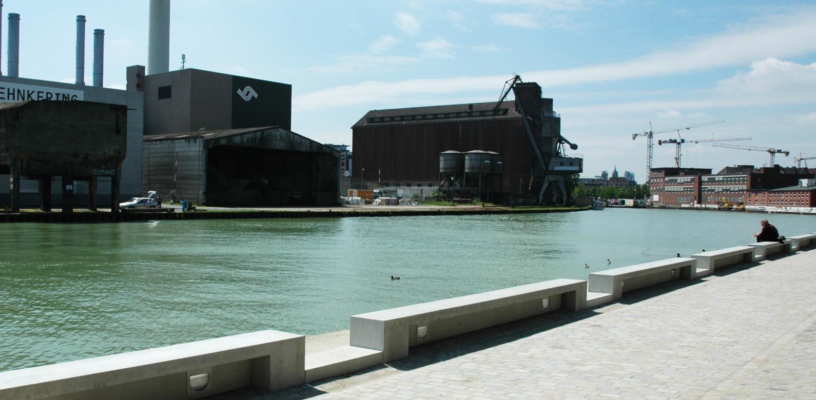 Kaigestaltung Stadthafen Münster